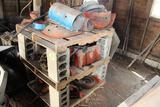 AC D-17 ENGINE (FOR PARTS) AND AC TRACTOR PARTS (SOME AC WD-45)