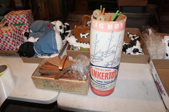 Tinker Toys and Lincoln Logs