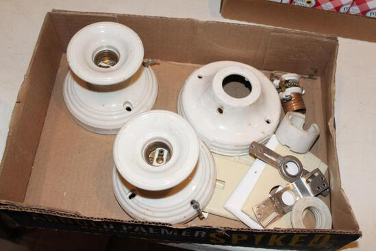 Porcelain light fixtures