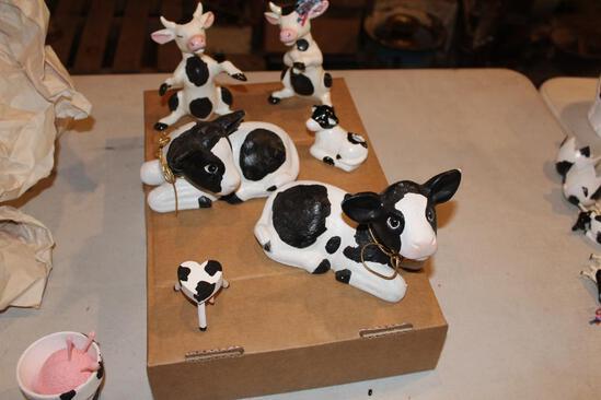 Cow figurines