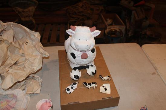 Cow cookie jar and more