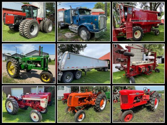 PORTNER FAMILY FARM  & COLLECTIBLE TRACTOR AUCTION