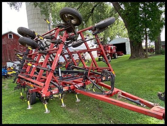 CaseIH TigerMate II Field Cultivator, 25.5', (51) Shanks, 4 Bar Harrow, (2) Front Gauge Wheels, All
