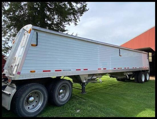 "***2011 Timpte American Ag Series 40'x96""x66"" Sides Hopper Trailer, 11R24.5 on Steel, Spring Ride,"