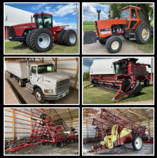 CASE IH FARM EQUIPMENT AUCTION -EGGERT FARMS, INC