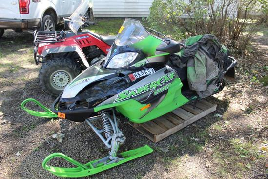 *** 2004 Artic Cat SaberCat 600 EFI, electric start, remote start, not running, unable to verify