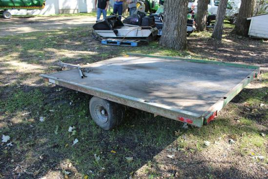 ***1973 John Deere Snowmobile Trailer