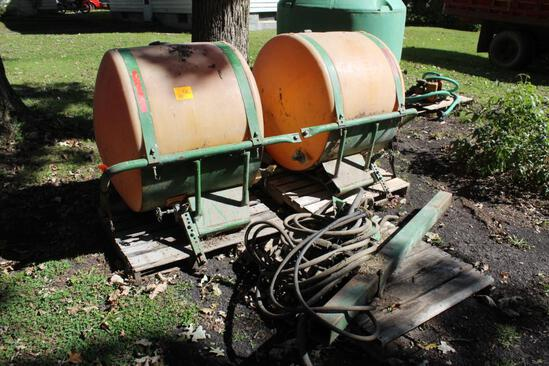 (2) JD 200 Gallon Saddle Tanks