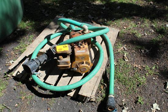 Cast Iron Transfer Pump with B&S Engine