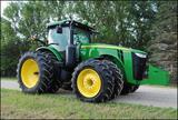 2011 JD 8360R MFWD Tractor, AutoTrac, 40K IVT, ILS, ACS, Active Seat, Cat4 QH, Cat4 HD Drawbar, 7