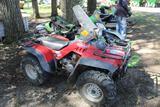 Honda Foreman Fourtrax 4x4 ATV, Windshield, New Battery