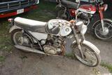 ***1966 Honda CB160, 17045 Miles Showing, CB1601049418 B160E10491