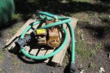 Cast Iron Transfer Pump with B&S Engine