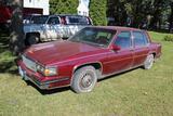 ***1985 Cadillac Sedan DeVille, 4 Door, Loaded, VIN- 1G6CD6980F4332778, not running, no title