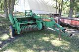 JD 14T Baler, PTO, with Bale Ejector