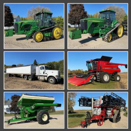 O'NEILL FARMS RETIREMENT FARM EQUIPMENT AUCTION