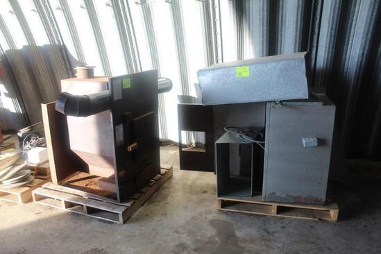 THERM CON WOOD OR COAL FURNACE, , FIRE BRICK, BLOWER