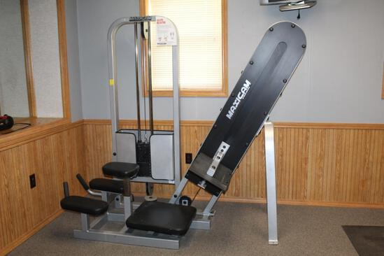 MaxiCam 100lb GluteBlaster Machine