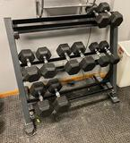 Dumbbells Stand, No Weights