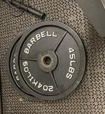 (2) 45lb Weights