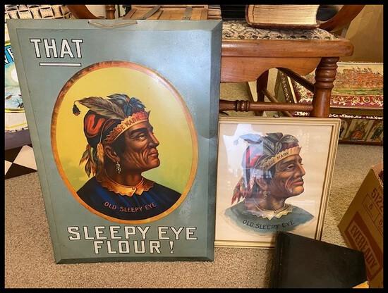 RARE NORTH AMERICAN ARTIFACT AUCTION-Sleepy Eye