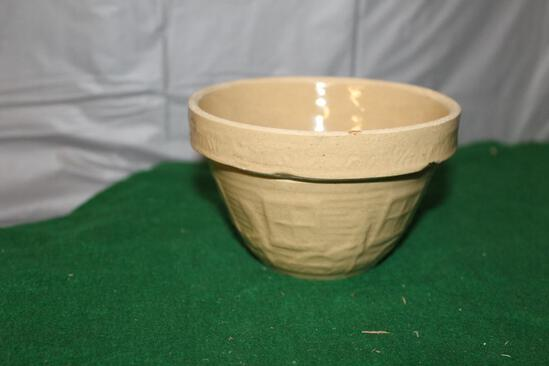 "APPROX. 5"" CROCK MIXING BOWL, USA MARKED ON BOTTOM"