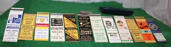 ADV. MATCHBOOK COVERS, AND OTHER ADV. ITEMS FROM WILLMAR, MN