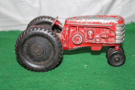 MASSEY HARRIS TRACTOR, NF, HAS PAINT CHIPS, RUBBER TIRES