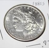1881 S MORGAN SILVER DOLLAR, UNCIRCULATED