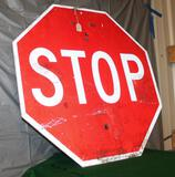 STOP SIGN, NO SHIPPING,PICKUP ONLY