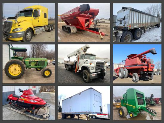 SPRING 2021 ABSOLUTE EQUIPMENT CONSIGNMENT AUCTION