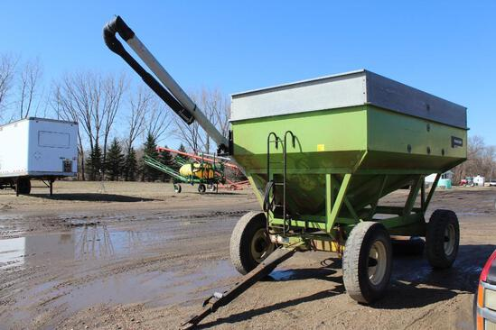 Parker 2600 Gravity Box on Parker Gear, Hyd Drill Fill Auger, Approx 400BU, Truck Tires