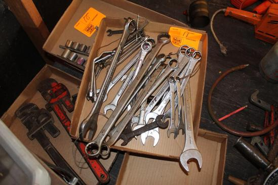 OPEN END AND BOXED END WRENCHES, METRIC AND STANDARD