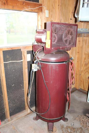 CLASSIC MODEL CS51012V 60 GAL. UPRIGHT AIR COMPRESSOR, 5 HP, 230 VOLTS