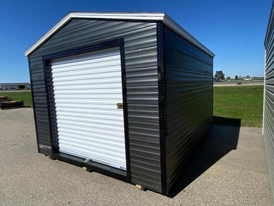 NEW 10' X 12' STORAGE BUILDING WITH 6' ROLLUP DOOR
