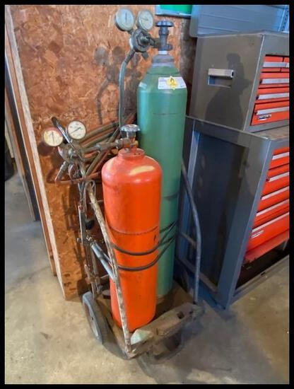 Torch Cart, Hoses & Tips