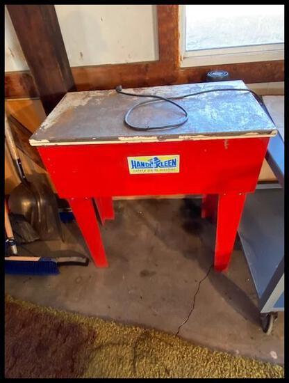 Handi-Kleen Parts Washer on Stand