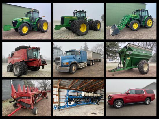 JERE OLSON FARM EQUIPMENT ESTATE AUCTION