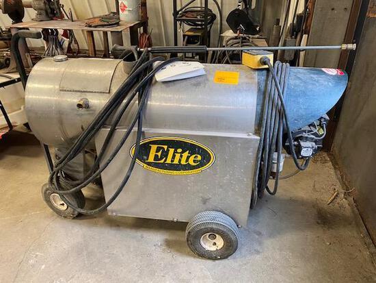 Elite Hot Water Pressure Washer, 2004SBA, 220 AMP, On Portable Cart