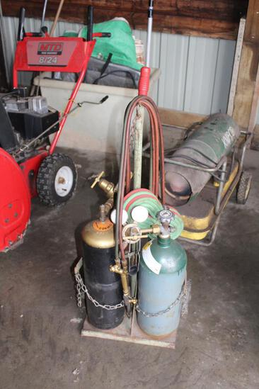 Touch Cart, Hoses, Gauges, Tips