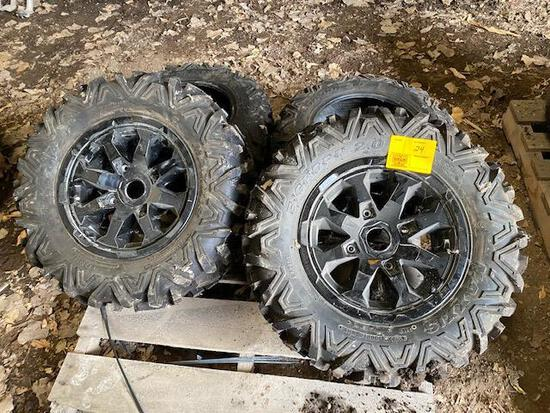 New ATV Tires off of CAN-AM