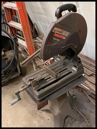 """B&D 14"""" Chop saw on Stand"""