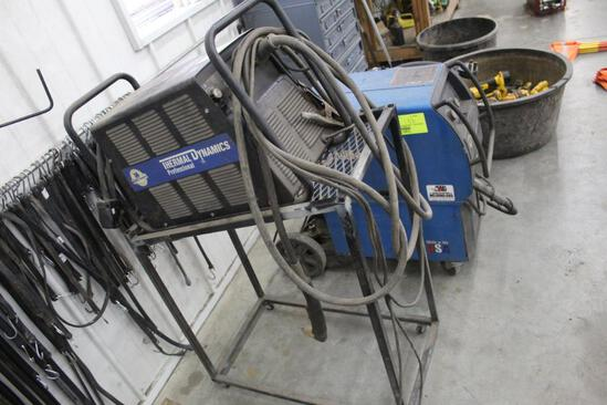 THERMAL DYNAMICS CUTMASTER 101 ON ROLLER STAND