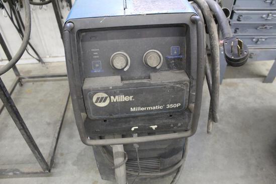 MILLER MILLERMATIC 350P WELDER