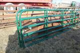 (2) APPROX 12' NORTHWEST MFG, STEEL CATTLE GATES $ X 2