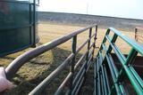 APPROX 12' NORTHWEST MFG, STEEL CATTLE GATE