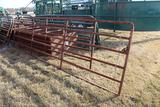 (2) APPROX 12' & 16' STEEL CATTLE GATES