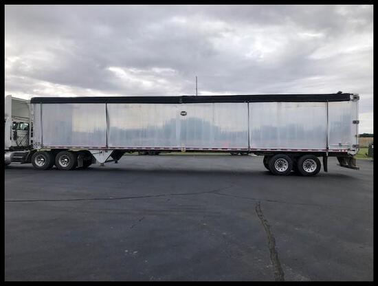 ***2018 MAC Solid Waste Transfer Trailer purchased NEW in August of 2017