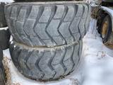 Set of (4) 26.5-25 Tires