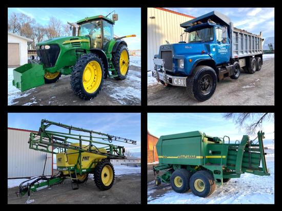ZUIDEMA INVENTORY REDUCTION JOHN DEERE EQUIPMENT